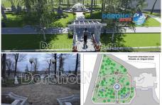 Administrația locală modernizează încă un parc și creează noi spații verzi în centrul municipiului Dorohoi - FOTO