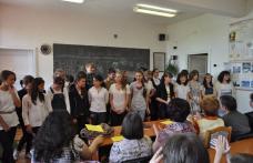 """[VIDEO][FOTO] Întâlnire de proiect la Şcoala  nr.5 """"Spiru Haret"""" din Dorohoi"""