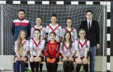 """Performanță superbă reușită de echipa de fotbal feminin a Colegiului National """"Grigore Ghica"""" – VIDEO - FOTO"""