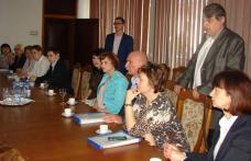 Delegaţia ucraineană şi-a început vizita de lucru la Botoşani - FOTO