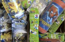 Jucării contrafăcute puse în vânzare la Săveni