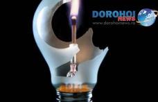 Dorohoienii, fără curent electric în prima zi după Paște. Care este zona vizată