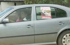Hotărâre surprinzătoare a BEJ! Lipirea afişelor electorale pe maşini este liberă