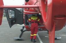 Elicopterul SMURD chemat pentru un tânăr de 28 de ani