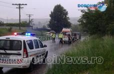 Minoră ajunsă la Spitalul Municipal Dorohoi în urma unui accident produs la Smârdan - FOTO