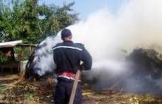 Incendiu provocat de un copil