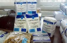 Au sosit ajutoarele alimentare de la UE doar pentru câteva primării din județ. Vezi care!