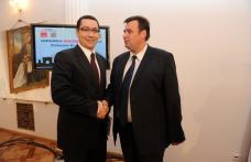Președintele PSD, Victor Ponta, susține proiectele lui  Gabriel Oprișanu pentru Botoșani
