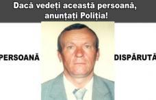 Bărbat dispărut de 14 ani! Anunțați poliția dacă l-aţi văzut sau cunoaşteţi date despre el!