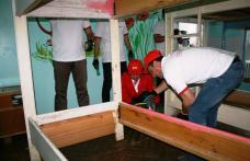 """Voluntarii E.ON în vizită la Centrul de Plasament """"Dumbrava minunată"""" Pomîrla - FOTO"""