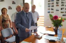 Ședință de constituire la Vlăsinești în prezența oficialităților județului - FOTO