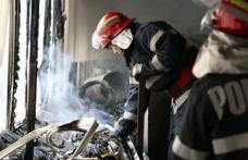 Locatarii unui bloc din Botoșani, evacuaţi după ce într-un apartament a izbucnit un incendiu