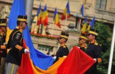 Prefectul anunţă ceremonialul dedicat Zilei Drapelului Naţional
