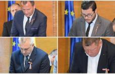 Consilierii județeni au depus astăzi jurământul. Printre cei 33 se află și patru dorohoieni! - FOTO