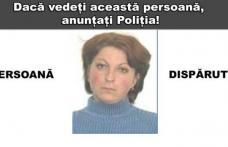 Persoană dispărută: Poliția caută o femeie din Flămânzi, care nu a mai luat legătura cu familia de zece ani