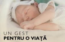"""Strângere de fonduri pentru dotarea Spitalului Municipal Dorohoi """"Un gest pentru o viaţă"""""""