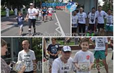 """Salvați Copiii """"Un gest pentru o viață"""": Cinci maratoniști au alergat pentru dotarea Spitalului Municipal Dorohoi - FOTO"""