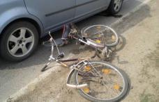 Biciclist neatent, lovit de mașina condusă de un bărbat din Dorohoi