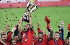 Astra Giurgiu a câștigat Supercupa României, după 1-0 cu CFR Cluj