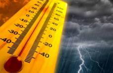 Vremea extremelor! Temperaturi caniculare și ploi torențiale cu grindină!