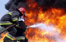 Cinci incendii în mai puţin de şase ore