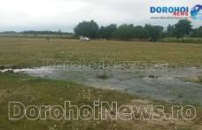 Avarie la Leorda după ce conducta care asigură alimentarea cu apă a Dorohoiului a explodat – VIDEO/FOTO