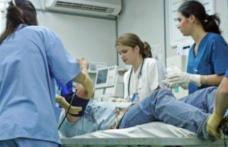 O asistentă medicală și-a fracturat piciorul în timpul serviciului!