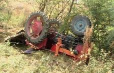 Bărbat din Coțușca ajuns în stare gravă la spital după ce s-a răsturnat cu tractorul