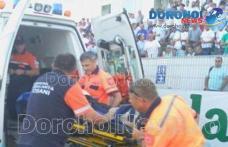 Incident la meciul FC Botoșani - CSMS Iași! Suporter transportat la spital după ce a făcut infarct