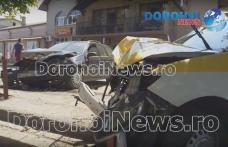 Grav accident de circulaţie produs de un bărbat care a furat un autoturism taxi din Botoșani