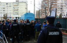 Jandarmii botoșăneni în sprijinul Grupării de Jandarmi Mobile Bacău