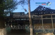 Bar de pe Bulevardul Victoriei din Dorohoi distrus parţial de un scurtcircuit electric - FOTO