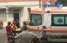 Bărbat de 38 de ani căzut în centrul Dorohoiului trimis de urgență la Iași - FOTO