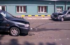 Accident grav în Dorohoi! Patru persoane au ajuns la spital în urma unui impact frontal! FOTO