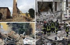 Imaginile dezastrului. Jumătate de oraș, spulberat. Bilanțul victimelor crește: 37 de morți și 100 de răniți - FOTO