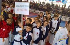 Șapte medalii cucerite de copii dorohoieni la competiția organizată de Federația Română de Karate WUKF la Mediaș - FOTO