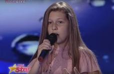 """Parascheva Pintili din Dorohoi a adus emoţie în platoul Next Star. """"Eşti unul dintre cei mai talentaţi copii"""" - VIDEO"""