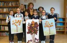 """""""Culorile toamnei"""" – activitate desfăşurată la Şcoala Gimnazială Cornerstone – Dorohoi - FOTO"""