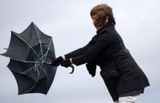 Atenționare COD GALBEN de intensificări ale vântului pentru Botoșani și alte trei județe