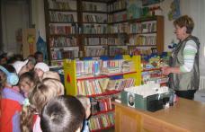 Suflet de copil – Copii de la Gradinița nr.9 în vizită la biblioteca