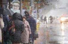 COD GALBEN de ninsori, lapoviţă şi viscol, în judeţul Botoșani. Recomandări pentru şoferi!