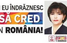 """Doina Federovici: """"PSD va pune în aplicare eliminarea celor 102 taxe, dacă românii ne acordă încrederea lor."""""""