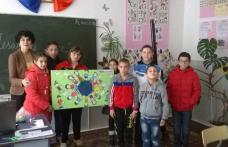 """Mesaj de pace"" la Liceul Tehnologic Special ""Ion Pillat"" Dorohoi - FOTO"