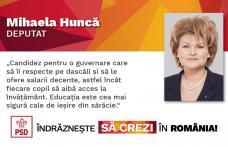 Interviu cu doamna Mihaela Huncă, candidatul PSD Botoșani pentru Camera Deputaților