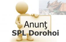 Servicii Publice Locale: Anunț important făcut în atenția cetățenilor municipiului Dorohoi!