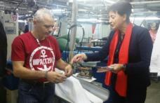 Candidații social democrați au arătat angajaților din fabricile municipiului Botoșani ce va face PSD la guvernare