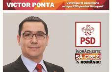 PSD Botoșani: promitem că vom crește salariile așa cum am mai făcut în perioda guvernului Victor Ponta