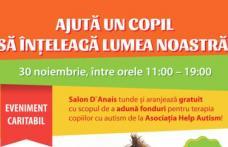 """Eveniment caritabil la Shopping City Suceava – """"Ajută un copil să înţeleagă lumea noastră""""!"""