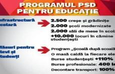 Programul PSD pentru educație