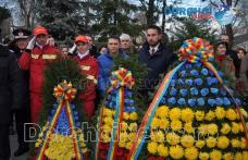 1 Decembrie sărbătorit cu depunere de coroane și în acest an la Dorohoi - FOTO